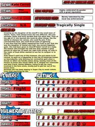 Miss Amazing Super City Character Sheet