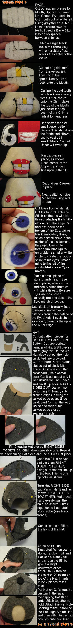 Lil Cal sewing tutorial Part 2 by lishlitz