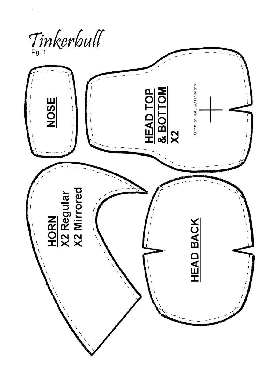 how to make homestuck horns easy
