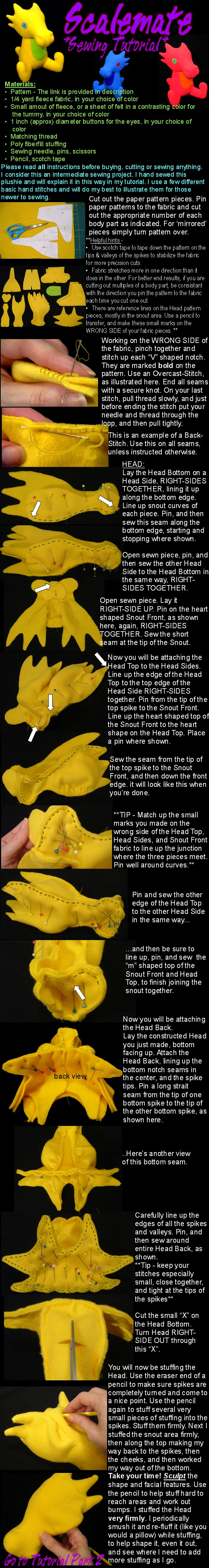 Scalemate sewing tutorial Part 1