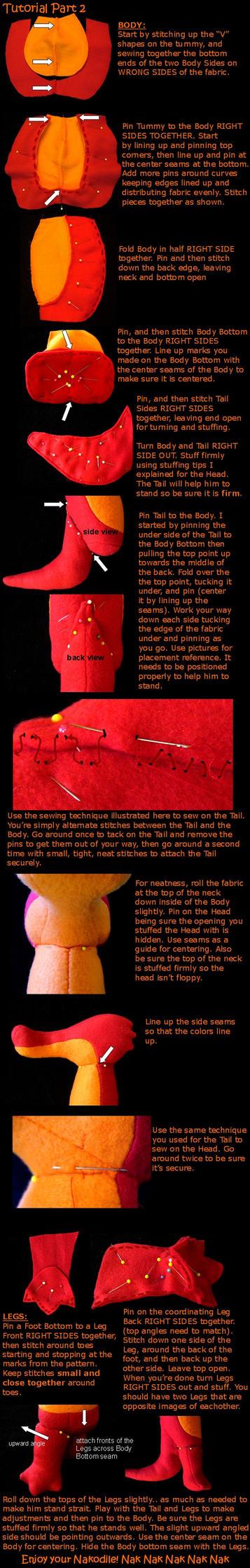 Nakodile sewing tutorial Part 2 by lishlitz