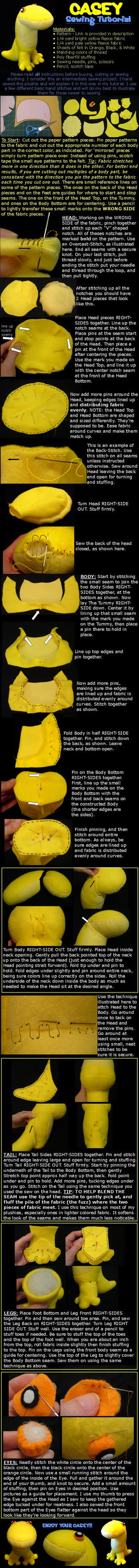 Casey Sewing Tutorial by lishlitz