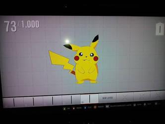 Pikachu Vinyl Forza 4 by felcandy