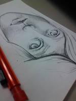 Work Sketch by felcandy