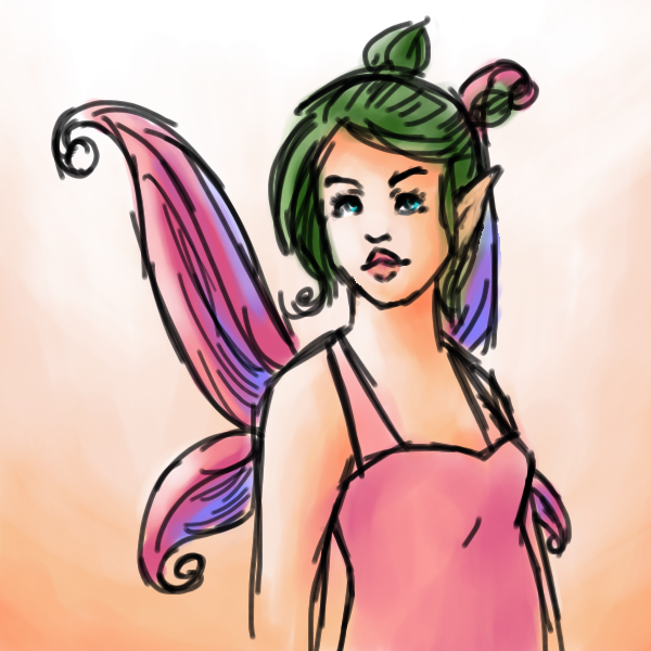 ' Watercolor Fairy ' by abisianjunior