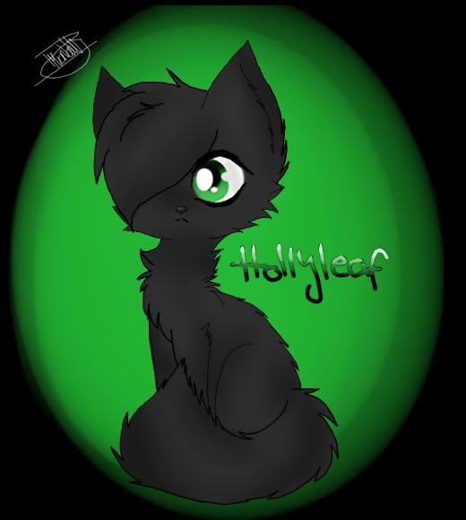 Hollyleaf Warrior Cats By WillowTheFireWolf