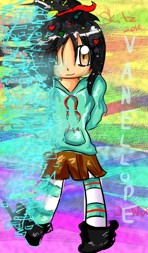 wreck it ralph vanellope glitch wwwimgkidcom the