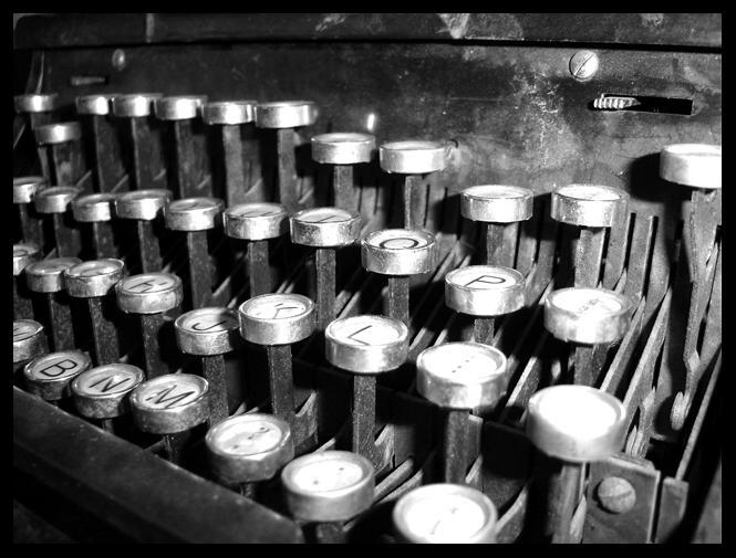 Typewriter by Lesjordans