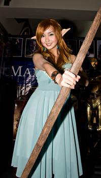 Alodia as an Elven Archer II