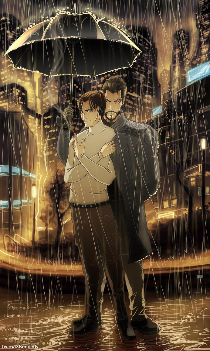 Deus Ex: Rain by maXKennedy