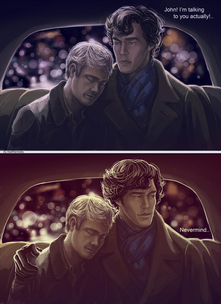 Sherlock BBC - Nevermind by maXKennedy