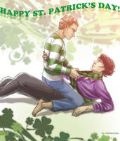 Sherlock BBC - Happy St. Patrick's Day! by maXKennedy