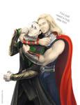 The Avengers - Thor x Loki