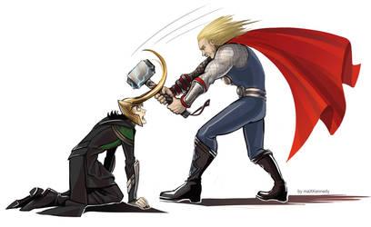 The Avengers - Hammer Time