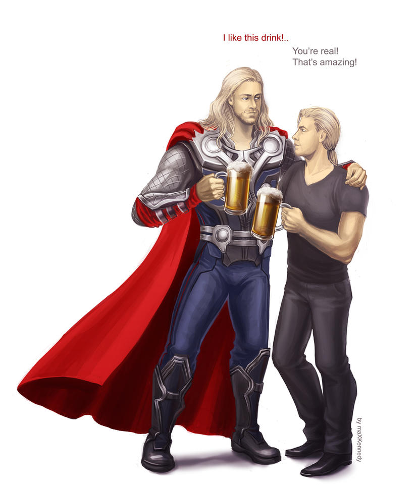 The Avengers - Like this drink by maXKennedy