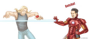 The Avengers - Gotcha by maXKennedy