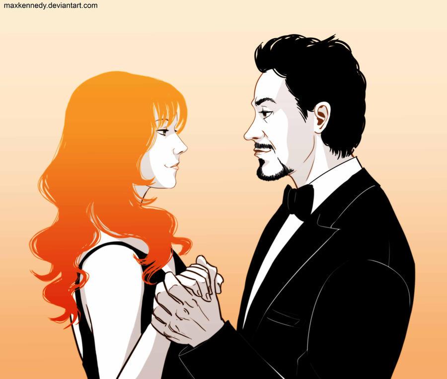 Iron Man - Tony Stark x Pepper Potts by maXKennedy