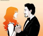 Iron Man - Tony Stark x Pepper Potts