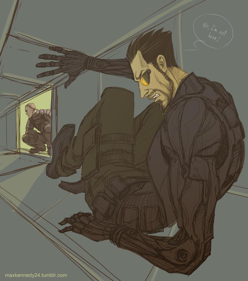 Deus Ex Not Here By Maxkennedy On Deviantart