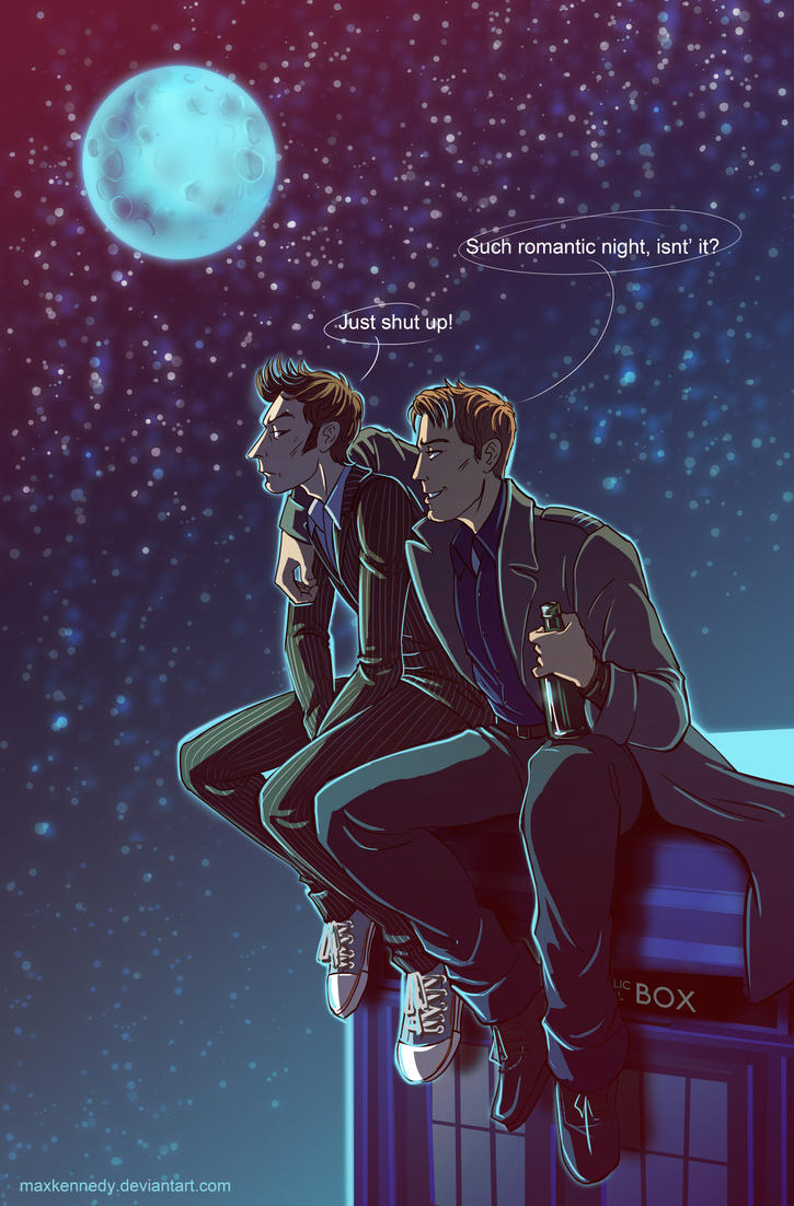 Doctor Who - Blue moon by maXKennedy