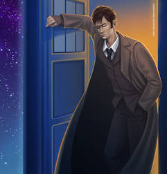 Doctor Who - The Doctor by maXKennedy