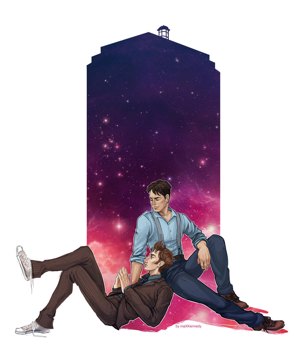 Doctor Who - The Doctor x Jack Harkness by maXKennedy