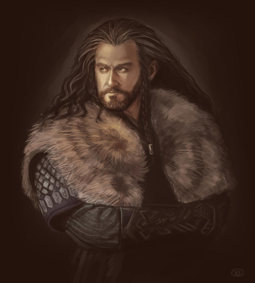 The Hobbit: An Unexpected Journey - Thorin by maXKennedy