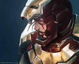 Iron man - Tony Stark by maXKennedy
