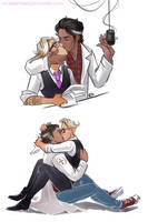 Welcome to Night Vale - kiss by maXKennedy
