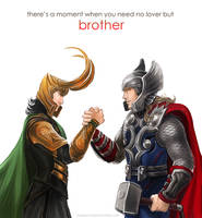Thor - Brothers by maXKennedy