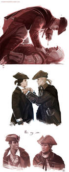 Assassin's Creed 3 - Connor x Haytham