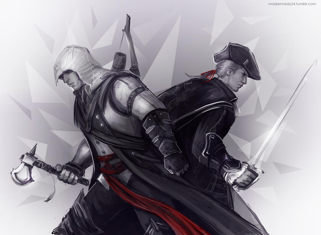 Connor And Haytham Fanfiction Creed - Connor x Haytham