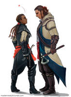 Assassin's Creed 3 - Connor x Aveline by maXKennedy
