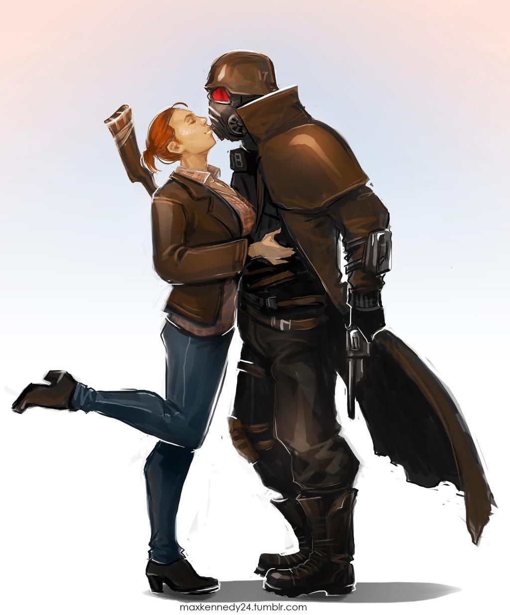 fallout new vegas   kiss by maxkennedy on deviantart