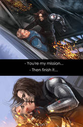 Captain America: The Winter Soldier - My mission by maXKennedy