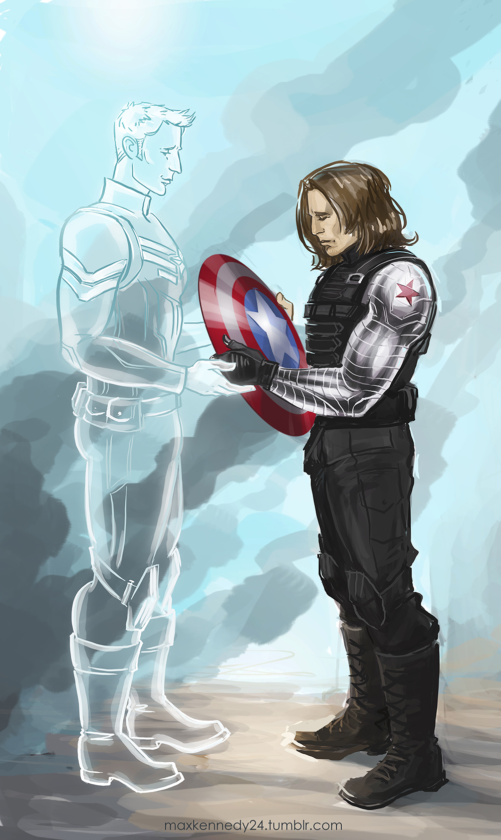 captain america the winter soldier memories by. Black Bedroom Furniture Sets. Home Design Ideas