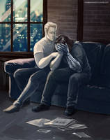 Captain America: The Winter Soldier - With you by maXKennedy