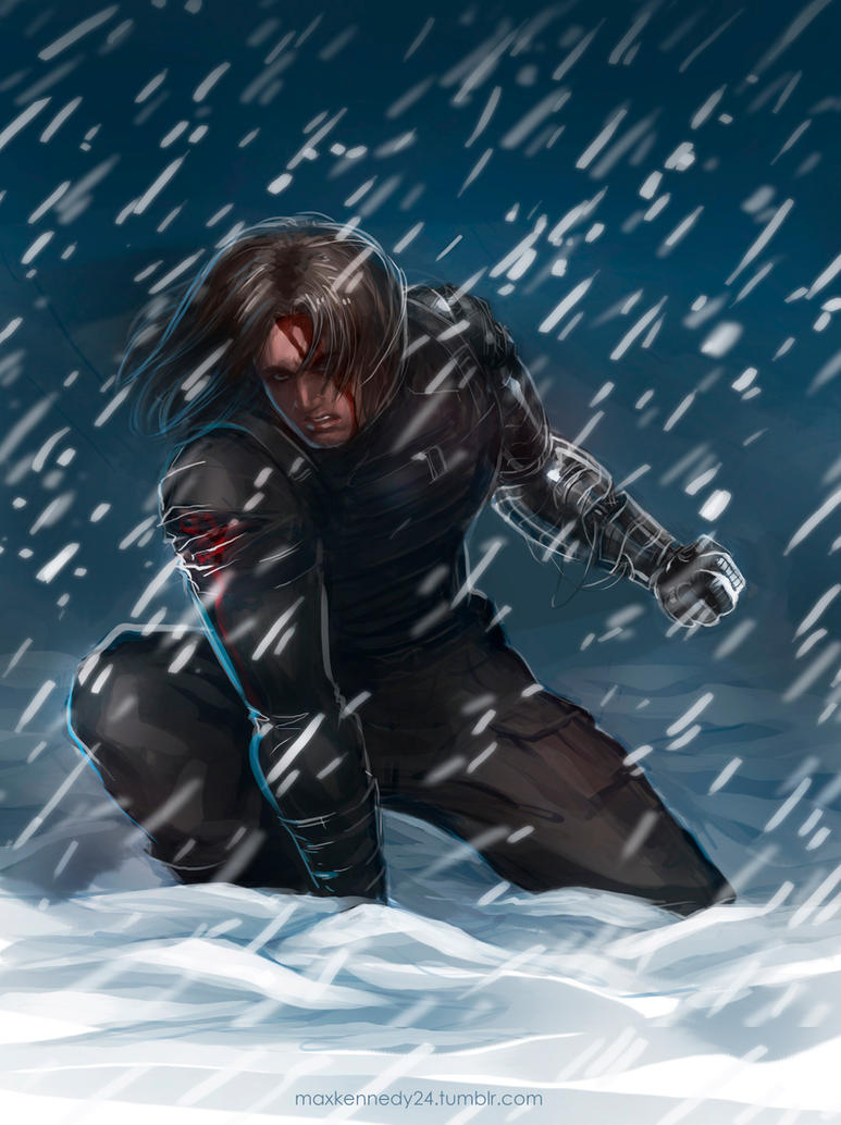 captain america the winter soldier snow by maxkennedy. Black Bedroom Furniture Sets. Home Design Ideas