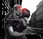 Captain America: The Winter Soldier - Kiss