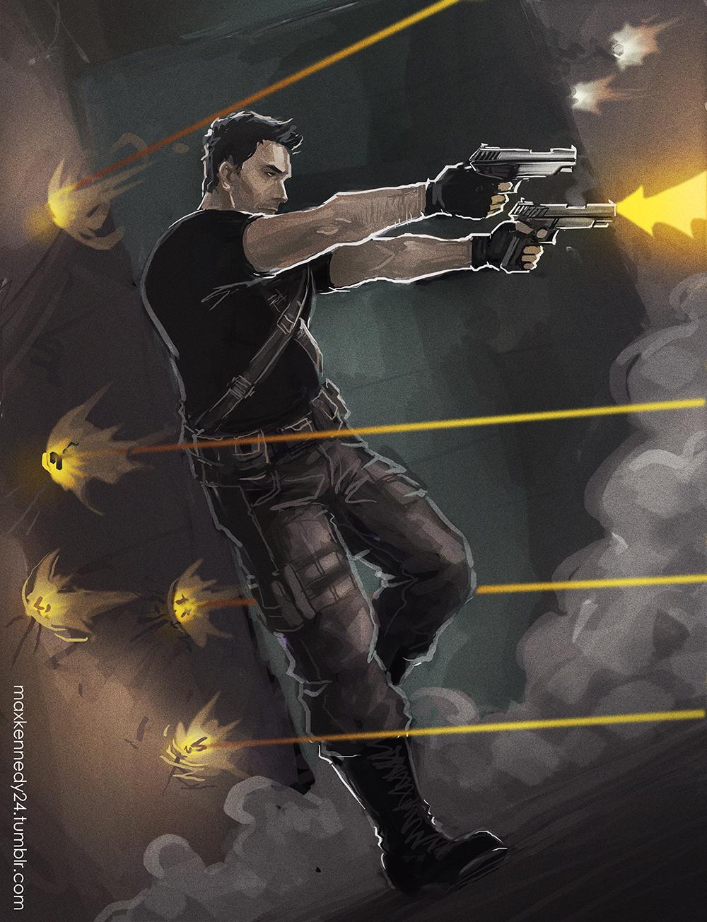 Captain America: The Winter Soldier - Guns by maXKennedy on DeviantArt