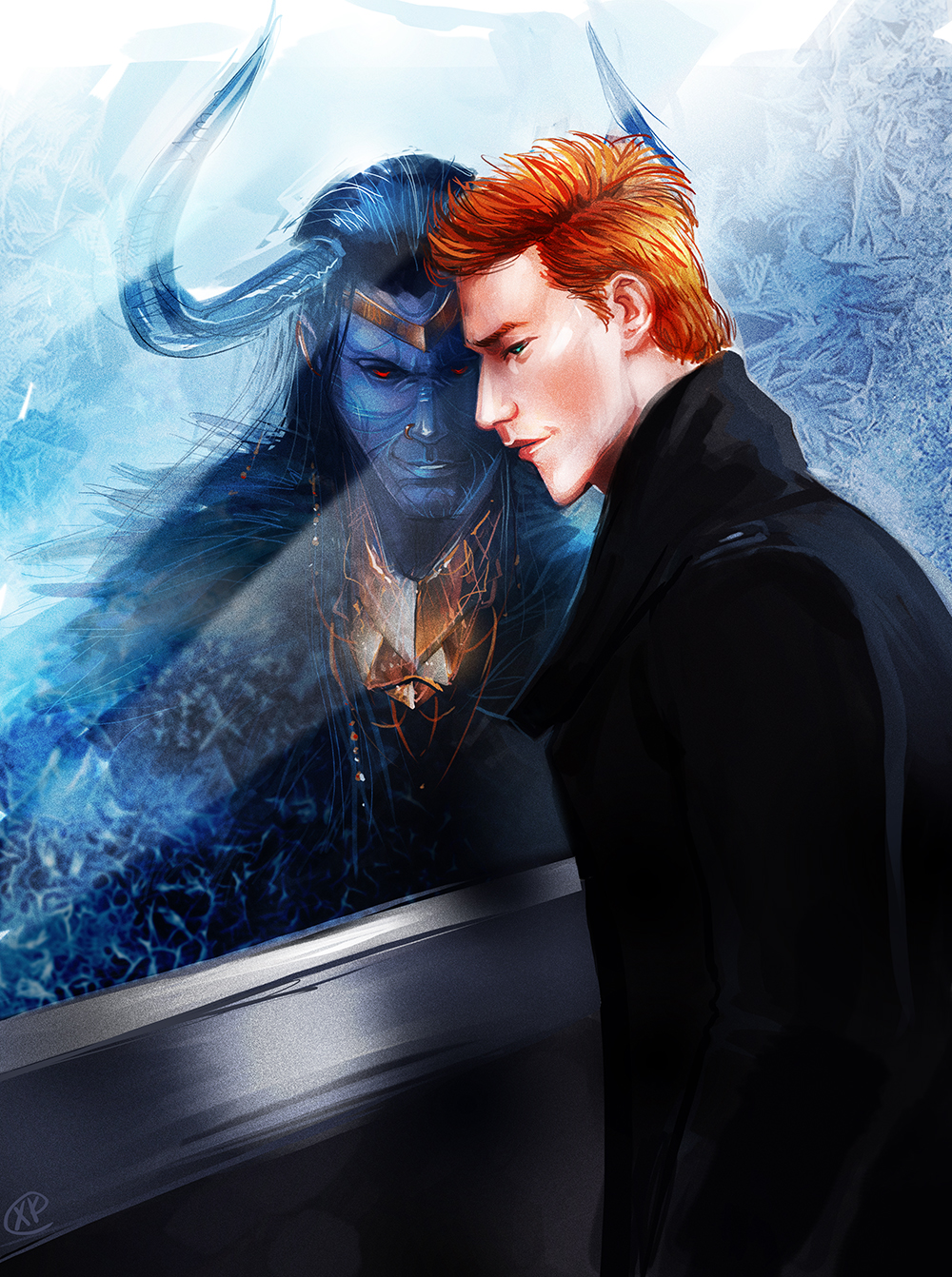 Loki Frozen Glass By Maxkennedy On Deviantart
