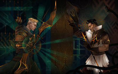 Dragon Age: Inquisition - Commission by maXKennedy