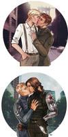 Captain America: The Winter Soldier - Kisses
