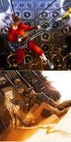 Mad Max Fury Road sketches
