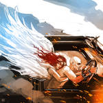 Mad Max Fury Road Nux angel guardian
