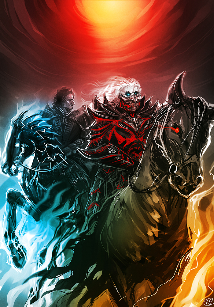 Mad Max Fury Road Horsemen Of The Apocalypse By Maxkennedy