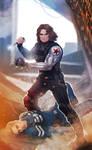 Captain America: Winter Soldier - commission