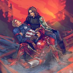 Captain America - Civil War by maXKennedy