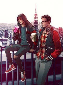 Spiderman x Deadpool - Starbucks Coffee