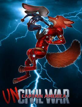 Zootopia x Avengers - Uncivil war